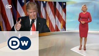 'Случилось немыслимое': как Европа отреагировала на победу Трампа - DW Новости (09.11.2016)