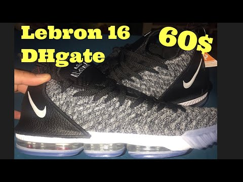 0a746c6830f New April 2019Nike Lebron 16 from DHgate review - YouTube