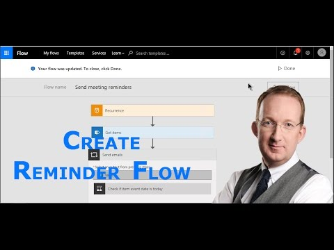 Create a Microsoft Reminder Flow