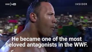 The moment Dwayne 'The Rock' Johnson saved his career