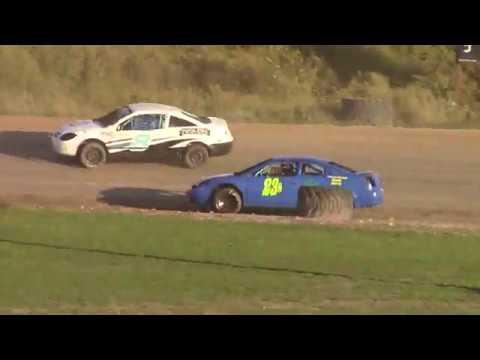Genesee Speedway Mini Stock Heats 9-14-19