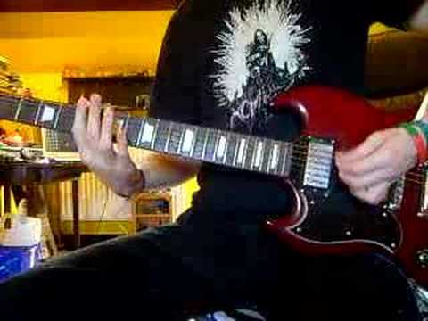 Slipknot - Psychosocial - guitar cover **with tab**