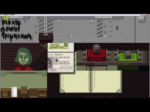 """""""Papers Please"""" w/ sound re-designed"""