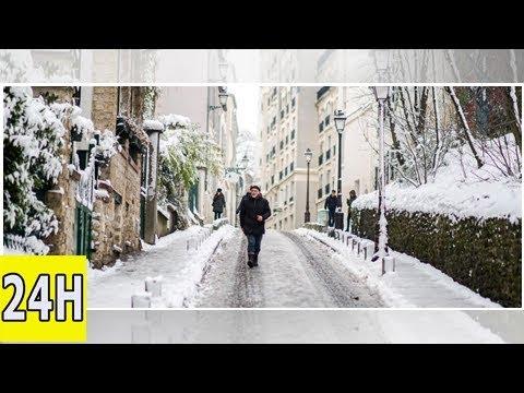 Météo: de la neige à paris à quelques jours du printemps!