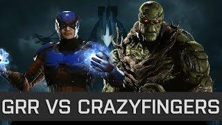 Injustice 2 - High Level FT10 - Grr (Atom) vs CrazyFingers (Swamp Thing)