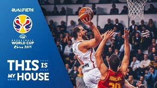 Montenegro v Spain - Highlights - FIBA Basketball World Cup 2019 - European Qualifiers
