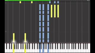 Repeat youtube video Imagine Dragons - Nothing Left to Say/Rocks (Synthesia)