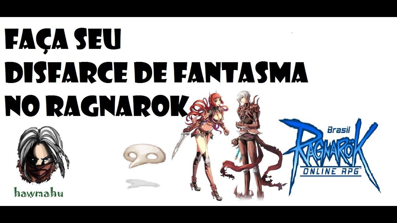 Dica de Equipamento para Cabeça - Quest para Fabricação do Disfarce do Fantasma - Ragnarok