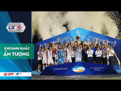 Tân vương Viettel nhận Cúp vô địch V.League 2020 - Sài Gòn FC giành hạng Ba chung cuộc | VPF Media