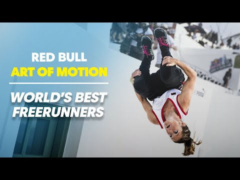 World's Best Freerunners take on Greece - Red Bull Art of Motion 2014