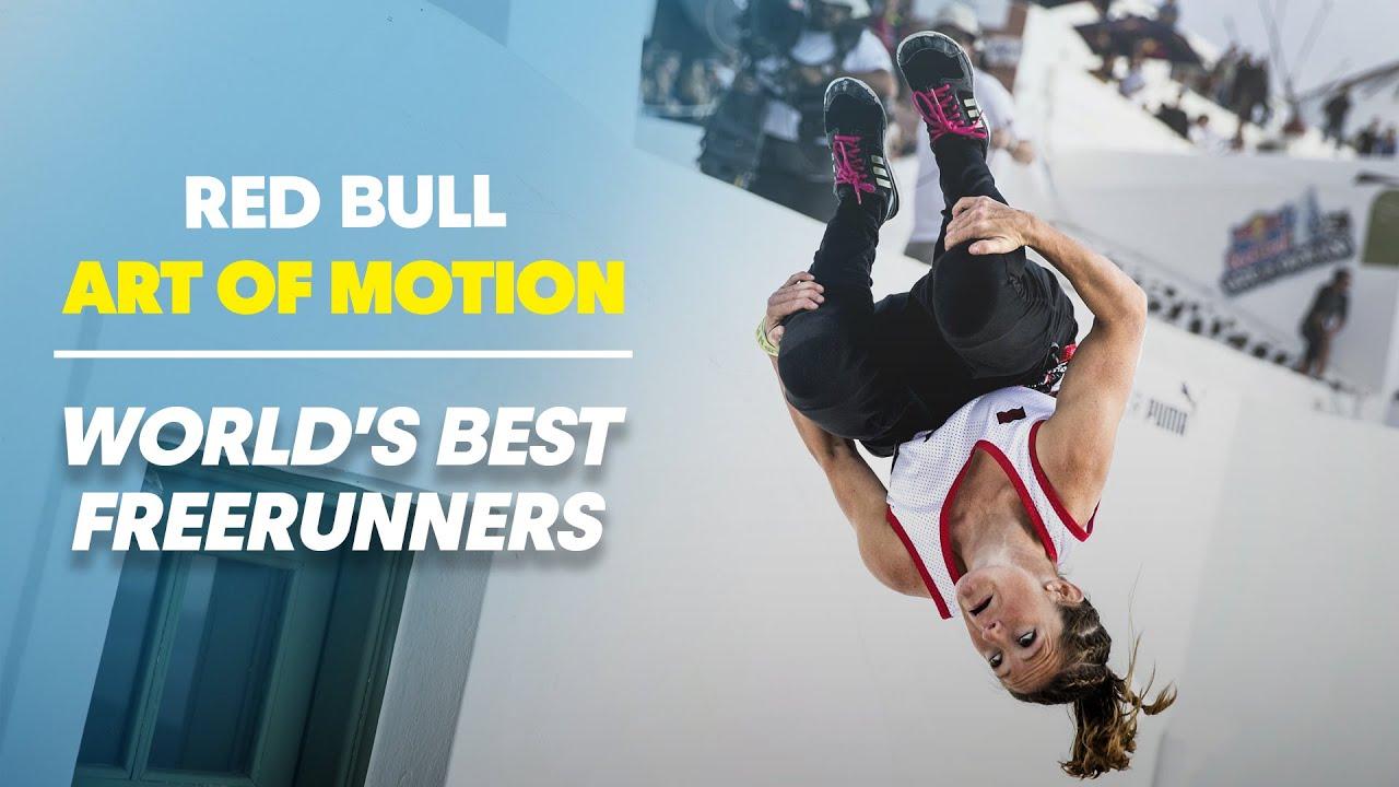 World's Best Freerunners take on Greece - Red Bull Art of Motion 2014