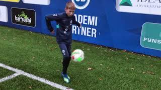 Ugens Øvelse (3) Malte Hedegaard U13