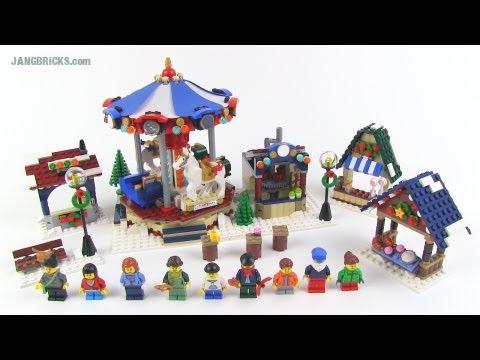 LEGO Creator Winter Village Market set 10235 Review!