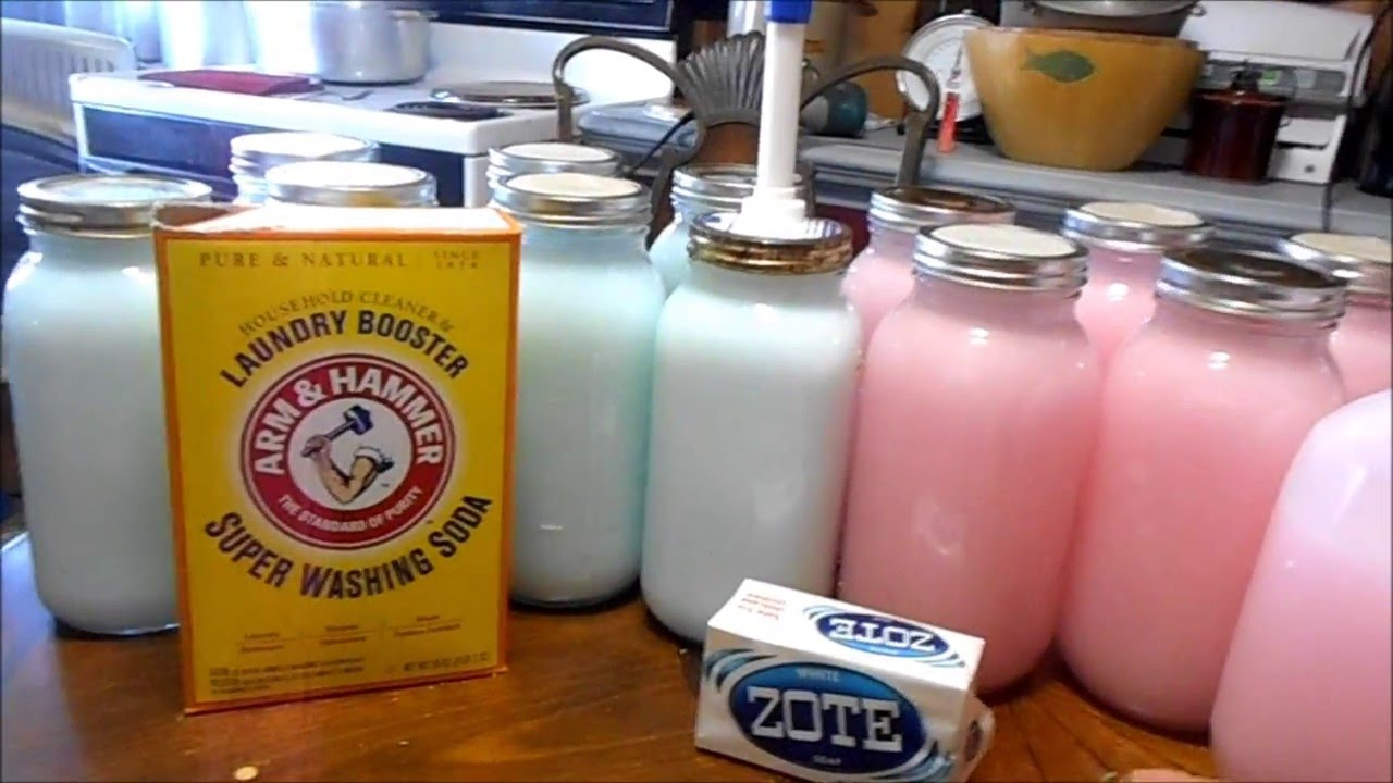 Diy How To Make Laundry Detergent 1 Years Worth For 30