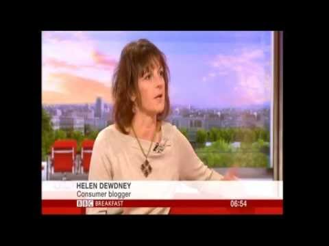 Helen Dewdney, The Complaining Cow BBC Breakfast TV Discusses How We Complain in the UK