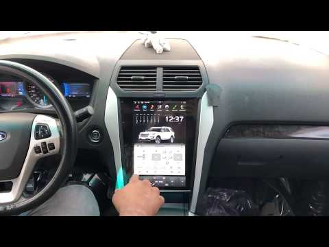 Ford Explorer 2013 – 19 Android Full Touch Tesla Style