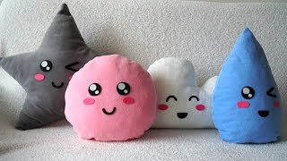 Dikişsiz Kawaii Yastık / DIY Kawaii Pillow (Eng Sub)