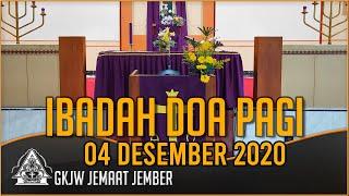 Percayalah, Aku Dapat Melakukannya - Ibadah Doa Pagi, 04 Desember 2020