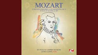 Concerto for Horn and Orchestra No. 4 in E-Flat Major, K. 495: II. Romanza: Andante cantabile