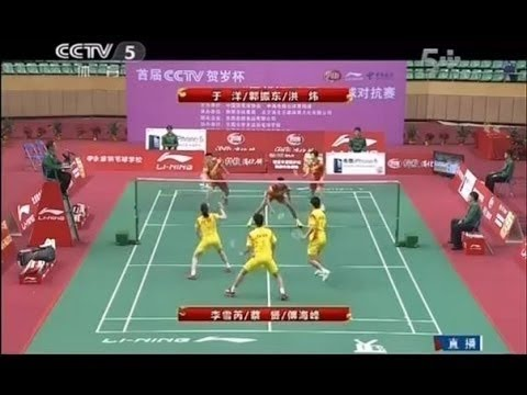 [Sport TV] Chinese New Year 3vs3  Badminton Exhibition Team China