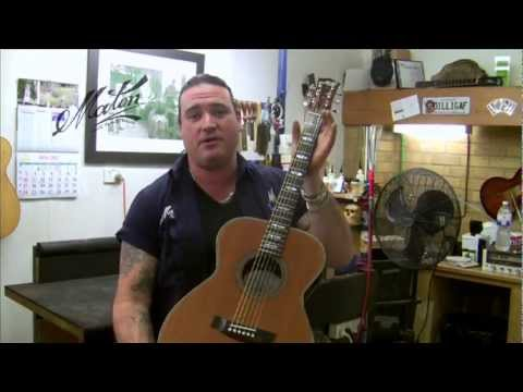 The 500th Maton Custom Shop by Andy Allen