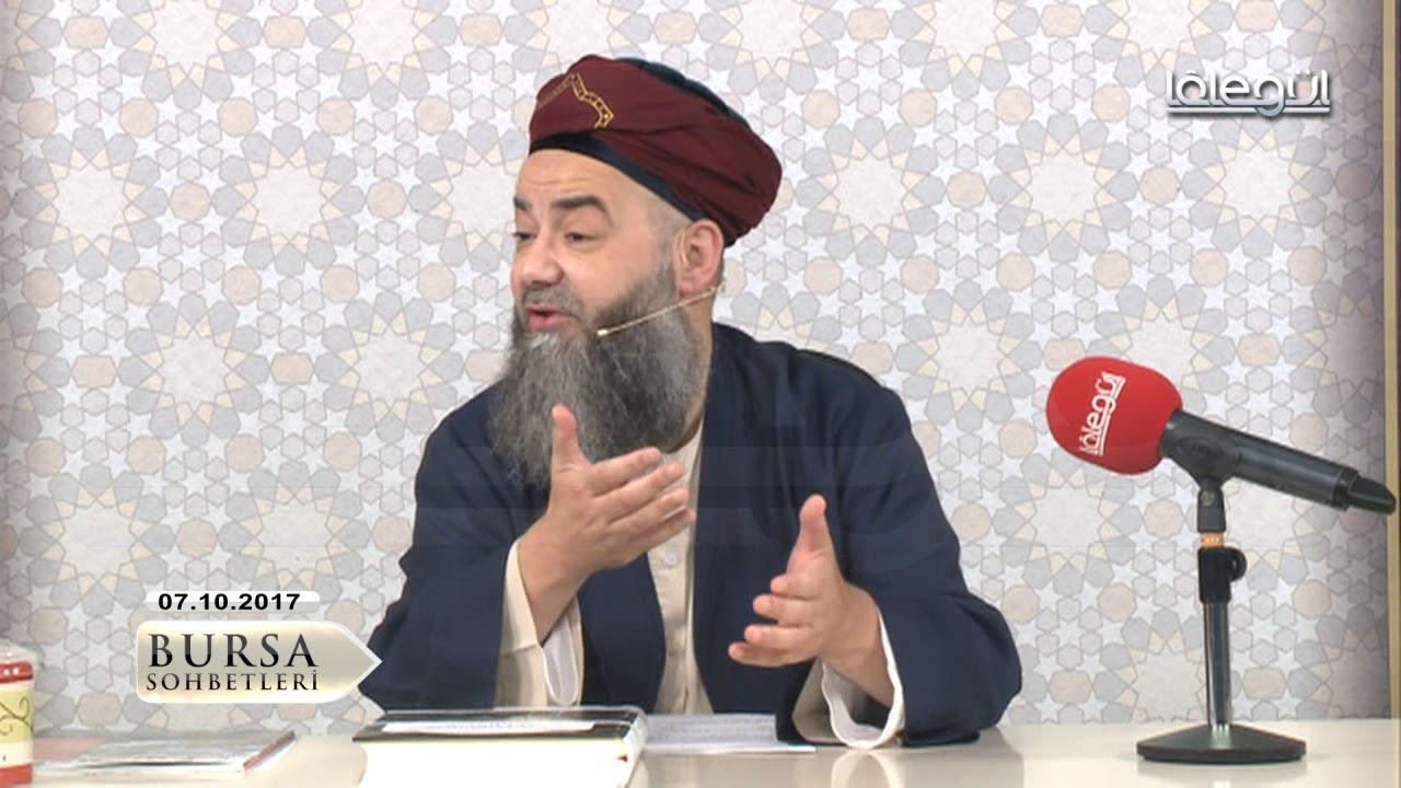 7 Ekim 2017 Tarihli Bursa Sohbeti (Niyet ve İhlas) Cübbeli Ahmet Hocaefendi Lâlegül TV