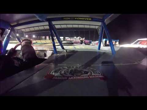 Brett McDonald Feature Lernerville Speedway 7/19/19 In-Car