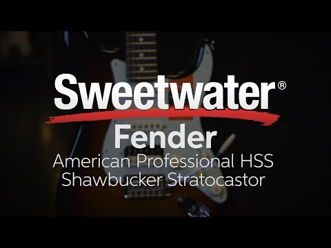 Fender American Professional HSS Shawbucker Stratocaster Review
