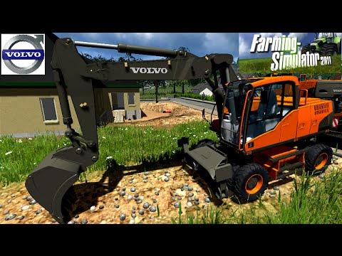 Pelleteuse volvo ec140 ew160 ls11 souvenir fans youtube - Pelleteuse simulator gratuit ...