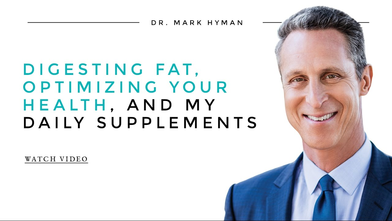 Digesting Fat, Optimizing Your Health, and My Daily
