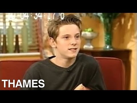 Jamie Bell interview - Open House with Gloria Hunniford  - 2000