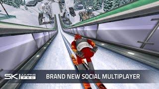 Ski Jumping Pro - Gameplay IOS