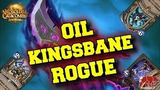 MAMMA MIA CHE CARTELLE!! OIL KINGSBANE ROGUE (HEARTHSTONE ITA)