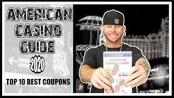 American Casino Guide 2020 |Top 10 Best Coupons|