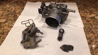Toyota 4runner pickup 22RE - understanding rough, high, surging idle, the Idle Air Control IAC valve