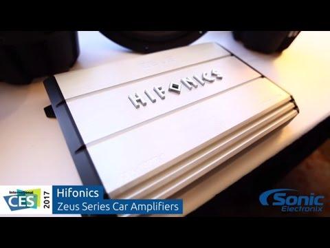 Hifonics Zeus Series Car Audio Amplifiers | CES 2017