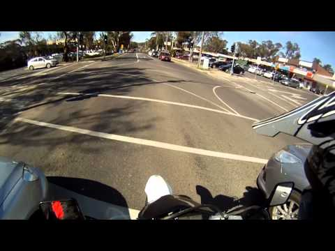 GoPro Testing, Stalling at the lights...awesome