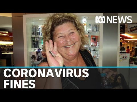 NSW woman fined