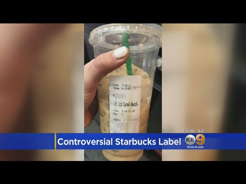 Starbucks Facing More Racism Allegations After Latino Customer Receives Cup With \'Beaner\' On The Lab