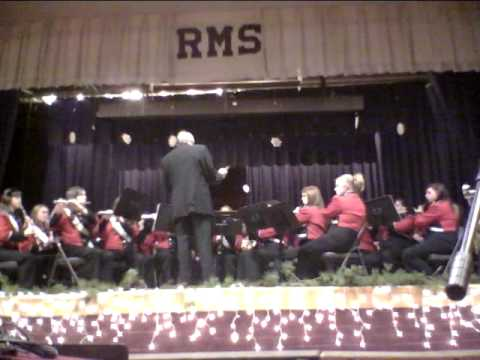 "Cherokee High School Band 12/15/11 ""On A Cold Winter's Night"""