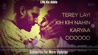Daryaa   Lyrics MP3 Song   Manmarziyaan   Ammy Virk & Shahid Mallya, Amit Trivedi