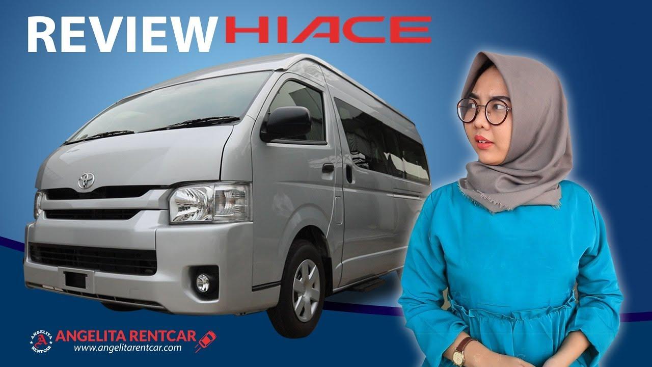 Review Toyota Hiace Commuter Dan Info Harga Sewa Rental Mobil YouTube