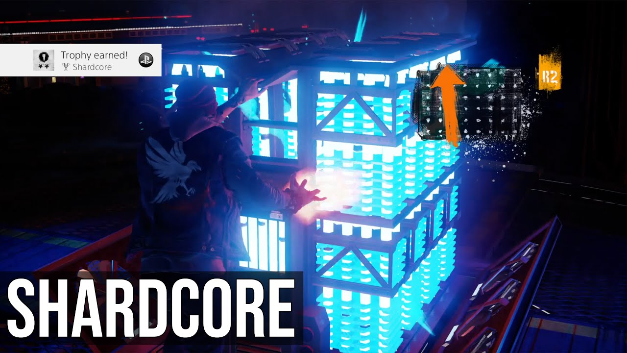 S Trophy Tutorial - inFAMOUS Second Son on blast shards ps3 map, infamous ps3, dead town jak 2 map, harvard map, infamous 1 shard locations, infamous 2 pigeon locations, infamous dead drops, dead drop locations map, infamous last level, lost hatch map, infamous 2 bird locations,