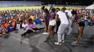 APA dance crew from  University of Trinidad and Tobago.