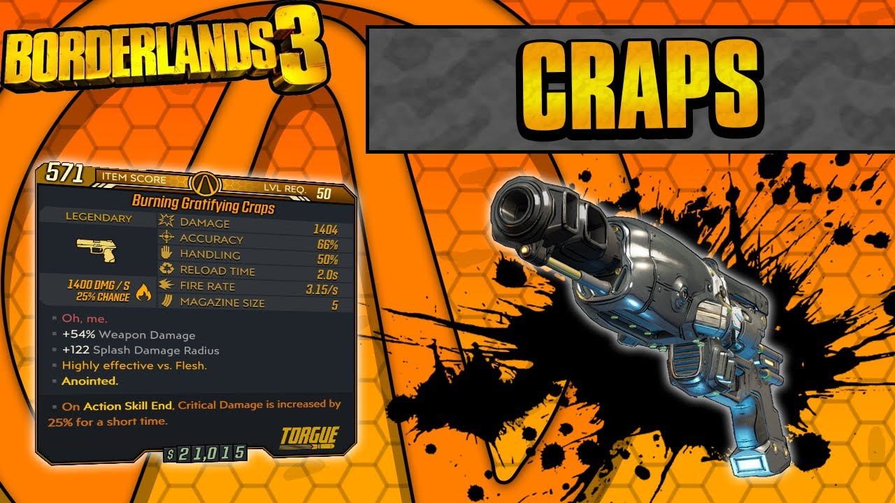 Borderlands 3 | Craps Legendary Weapon Guide (Luck of the Five!) thumbnail
