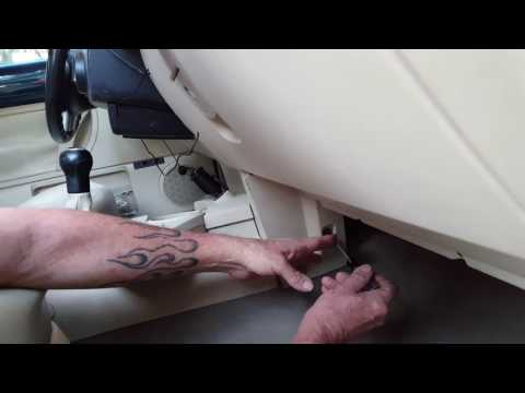 How to fix a blend door on a Volkswagen Beetle THE EASY WAY