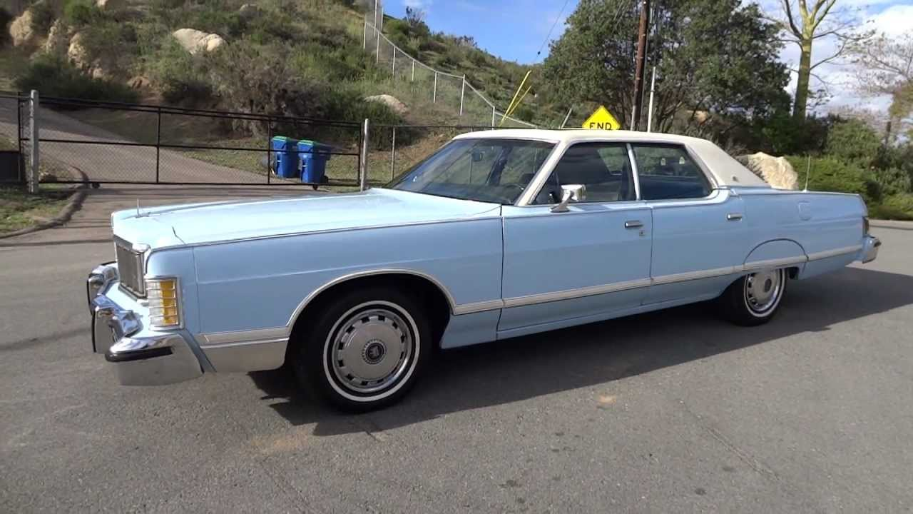 1978 Mercury Grand Marquis Sedan 6.6L 400 1 Owner FORD Lincoln type ...