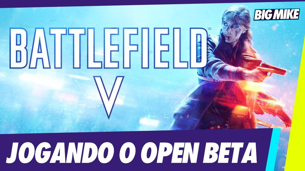 Jogando o Beta Battlefield V - Multiplayer BF5 PS4