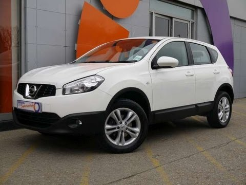2010 nissan qashqai acenta white for sale in hampshire youtube. Black Bedroom Furniture Sets. Home Design Ideas