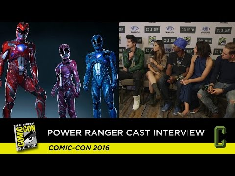 Power Rangers Cast Interview - San Diego Comic-Con 2016